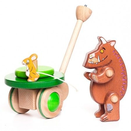 Gruffalo & Mouse Push Along