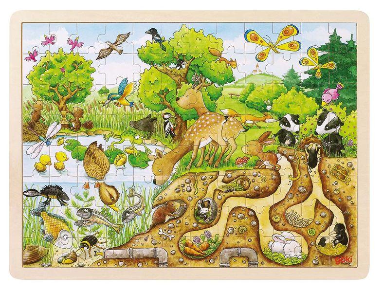 Puzzle - Exploring Nature