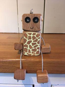 Ned the Robot - Giraffe Ned - CHRISTMAS CLUB ONLY
