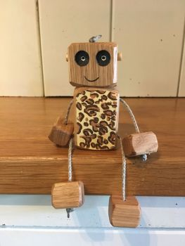 Ned the Robot - Leopard Ned - CHRISTMAS CLUB ONLY