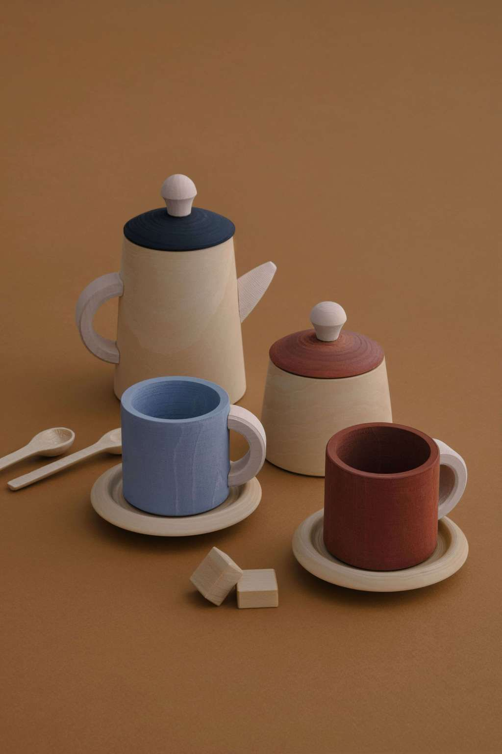 Tea Set Terra Blue