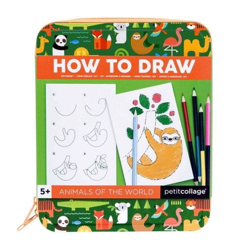 Animals of the World - How to Draw Travel Kit