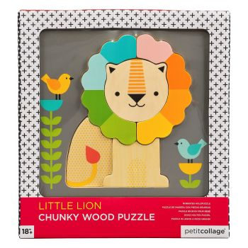 Lion Chunky Wooden Tray Puzzle