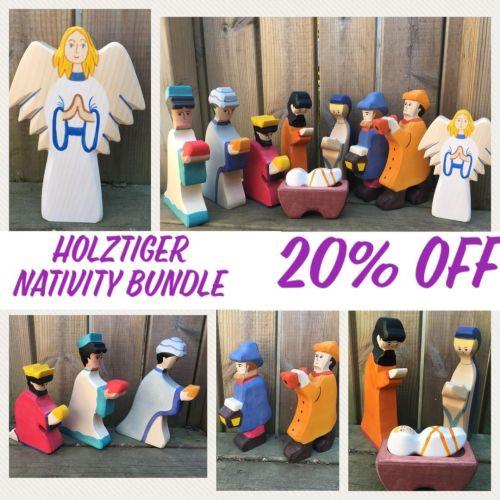 A Nativity Scene - Holztiger