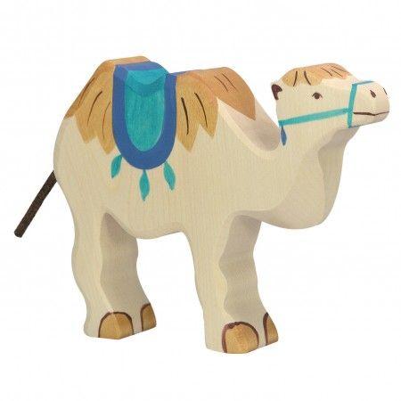 Camel with Saddle - Holztiger