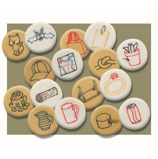 Rhyming Pebbles (Set of 16)