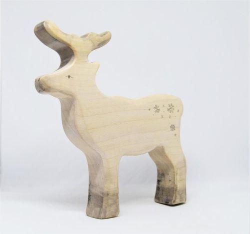 Special Edition Wooden Reindeer - Eric & Albert