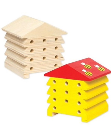 Wooden Bee Hive to decorate