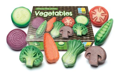 Vegetables - Sensory Play Stones