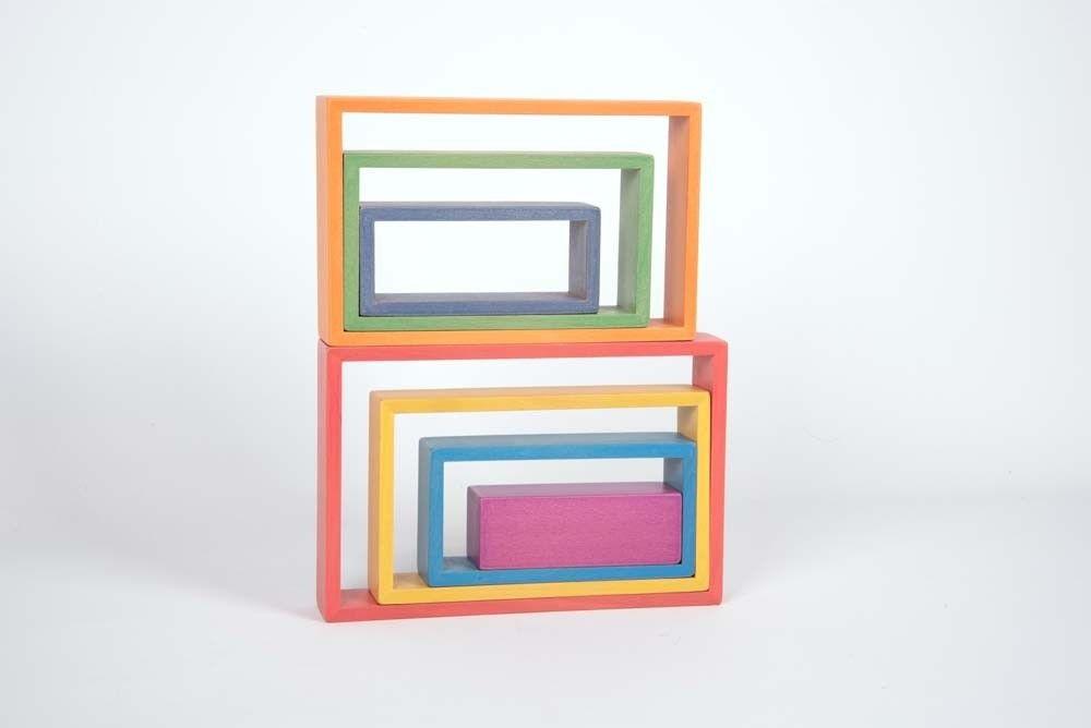 Rainbow Architect Rectangles