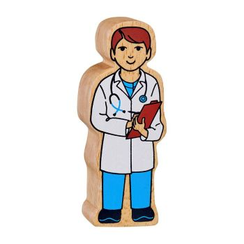 Lanka Kade - Figure, White & Blue Doctor
