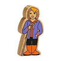 Lanka Kade - Figure, Purple & Orange Farm Woman