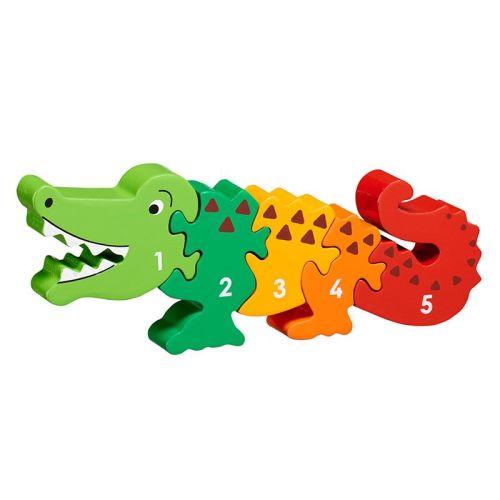 Crocodile 1-5 Jigsaw