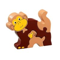 Lanka Kade - Monkey and Baby Jigsaw
