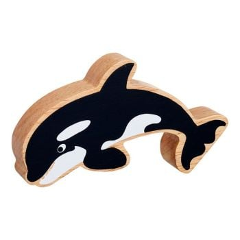 Black and White Orca