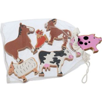 Bag of 6 animals - Farm Animals