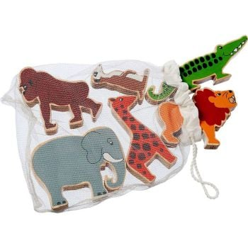 Bag of 6 animals - World Animals