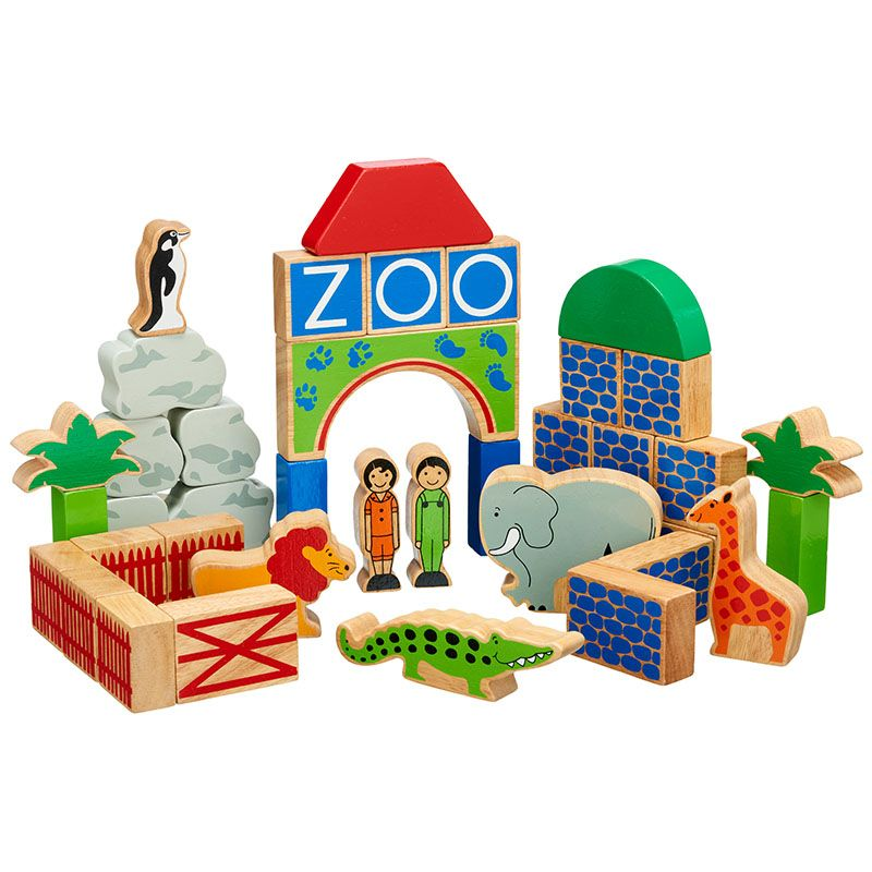 Lanka Kade - Zoo Building Blocks
