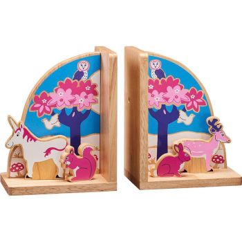 Enchanted Forest Book Ends