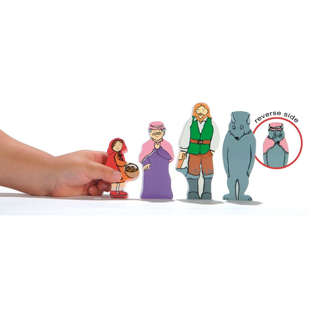 Little Red Riding Hood Wooden Characters