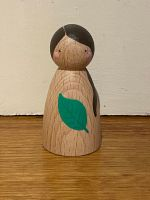 Peg Doll, Forest Friends - Green leaf