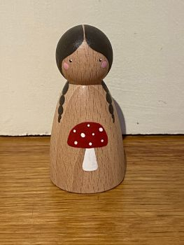 Peg Doll, Forest Friends - Mushroom