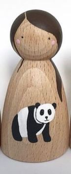 Peg Doll, Endangered Animals - Panda