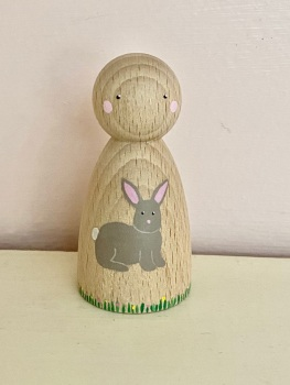 Peg Doll, Spring collection - Bunny Rabbit