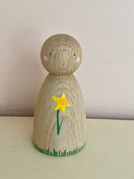 Peg Doll, Spring collection - Daffodil
