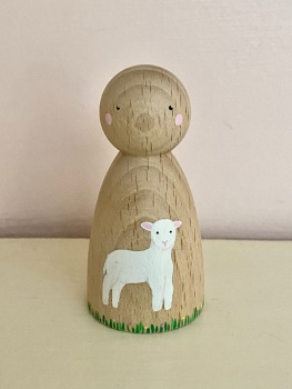 Peg Doll, Spring collection - Lamb