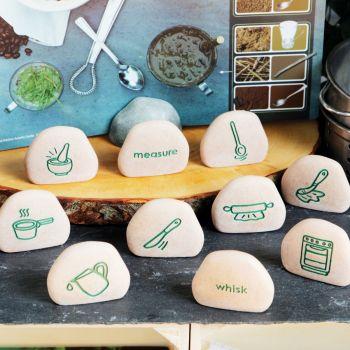 Mud Kitchen Process Stones (Set of 10)