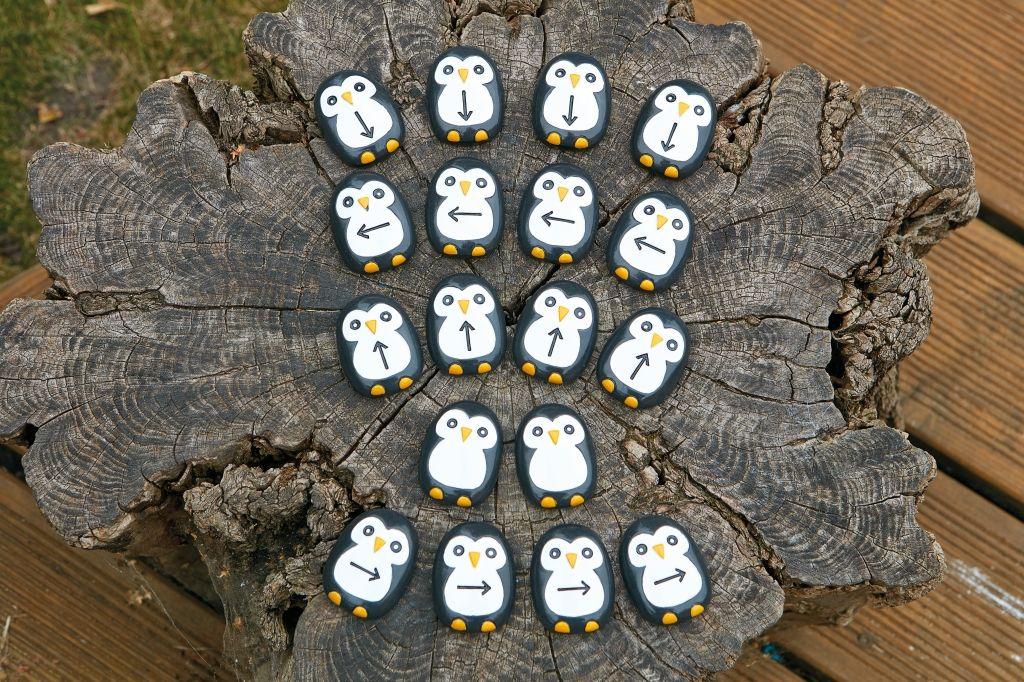 Pre-coding Penguin Stones