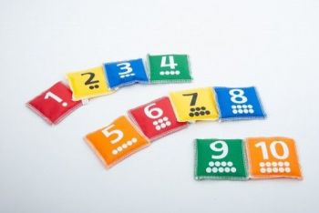 Bean Bags, Number & Dot (1-10)