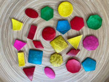 Coconut Shell, Geometric Shapes