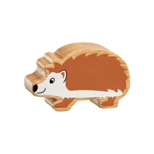 Brown and White Hedgehog