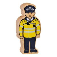 Lanka Kade - Figure, Yellow & Black Policeman