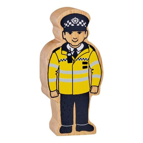 Figure - Yellow & Black Policeman
