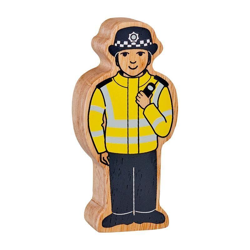 Figure - Yellow & Black Policewoman