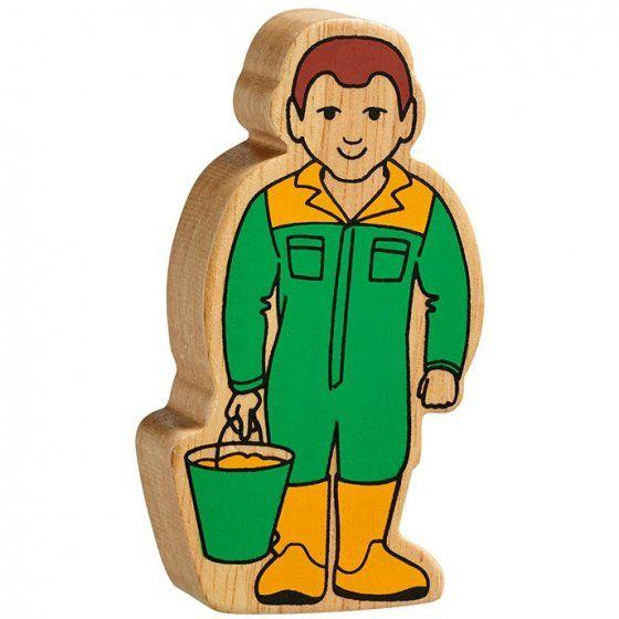 Figure - Yellow & Green Farm Hand