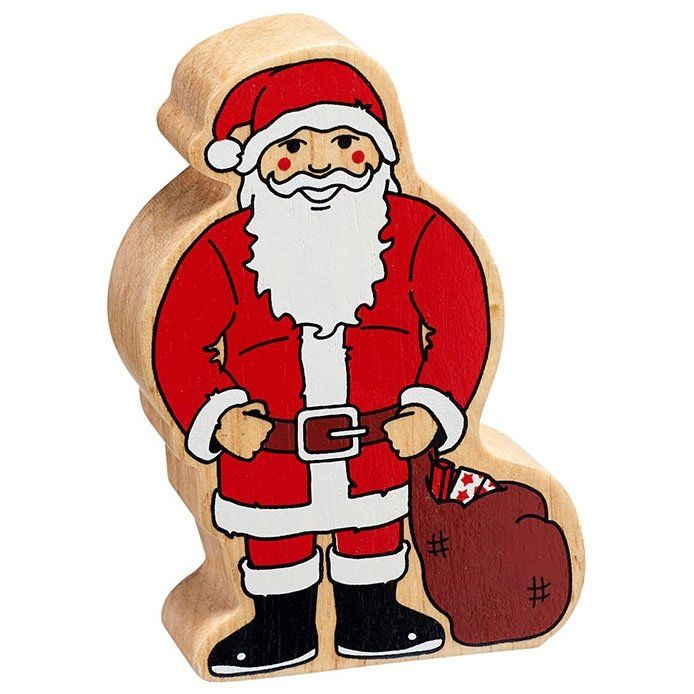 Figure - Red & White Father Christmas