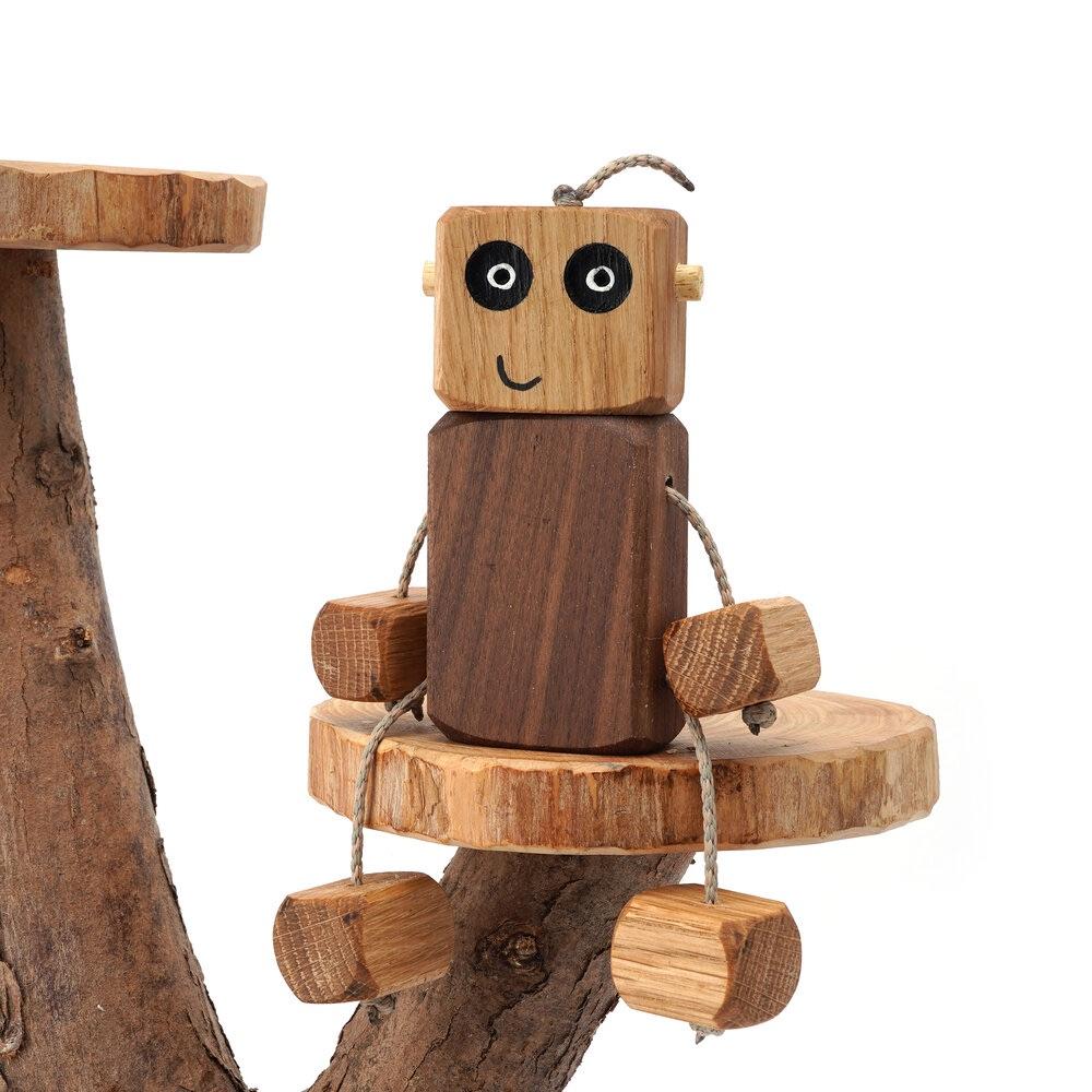 Ned the Robot - Muddly Head - Oak Head