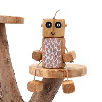 Ned the Robot - Red Dragon Ned - Exclusive to The Wooden Play Den