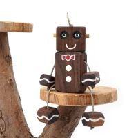 Ned the Robot - Gingerbread Ned -  Exclusive to The Wooden Play Den
