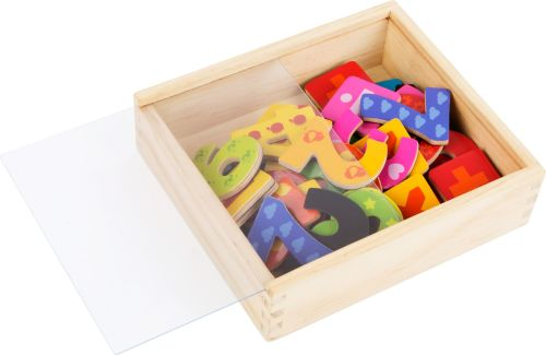 Colourful Magnetic Numbers