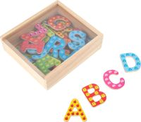 Colourful Magnetic Alphabet