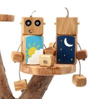 Ned the Robot - Day Dreamer Ned - Exclusive to The Wooden Play Den