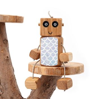 Ned the Robot - Mermaid Ned - Exclusive to The Wooden Play Den