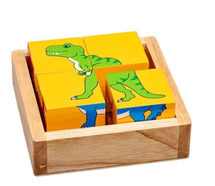 Dinosaur Animal Block Puzzle
