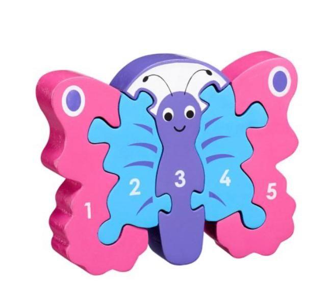 Butterfly 1-5 Jigsaw