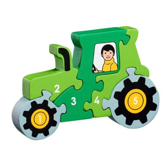 Lanka Kade - Tractor 1-5 Jigsaw